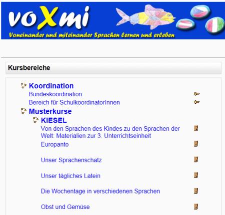 voxmi-Lernplattform: http://www.edumoodle.at/voxmi